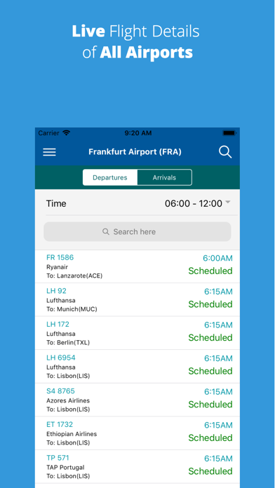 iFlight - Flights Details screenshot 1