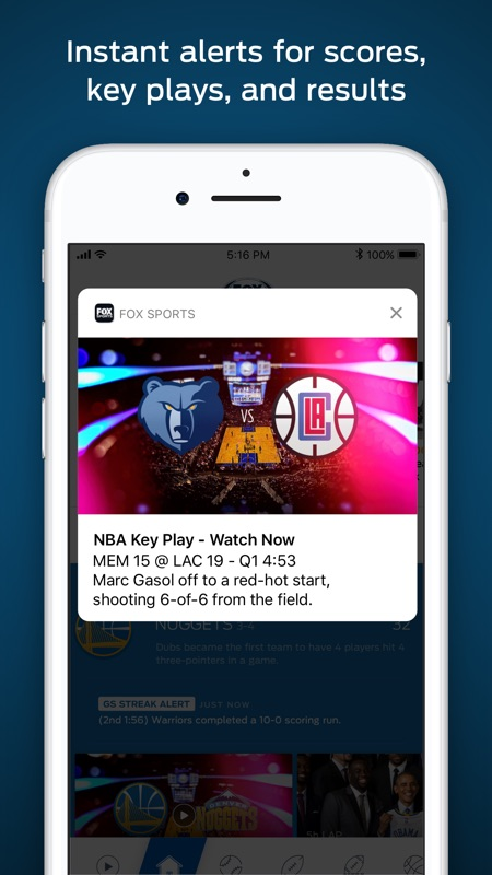 FOX Sports: Streaming & Scores - Online Game Hack and Cheat