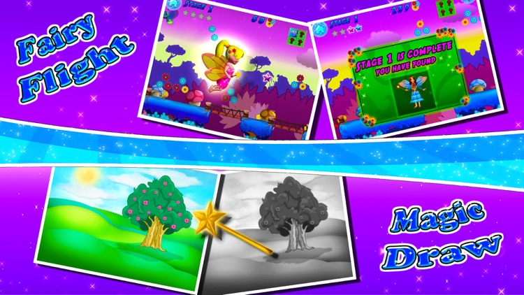 Fairy Colors Draw & Paint screenshot-3