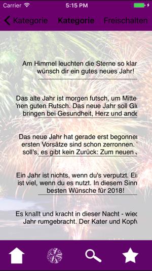 2019 Silvestergrüße Sprüche im App Store