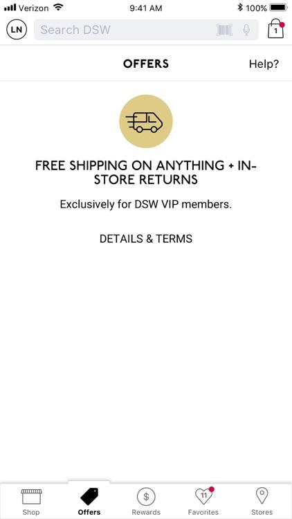 DSW Designer Shoe Warehouse screenshot-3
