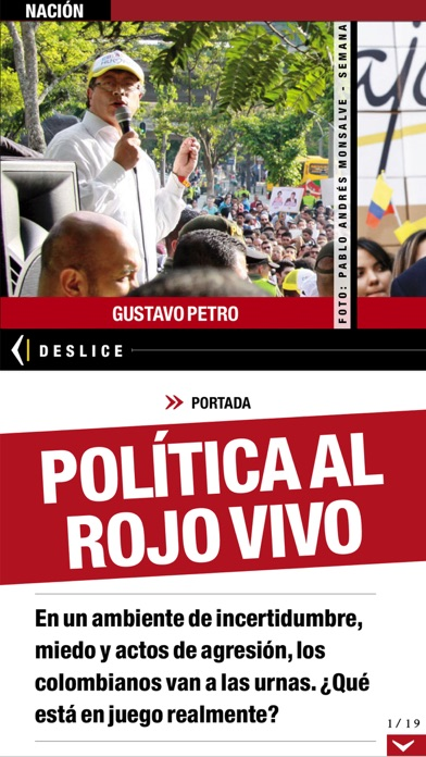 Revista Semana review screenshots