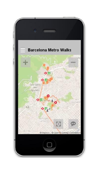 Barcelona Metro Walks - ES screenshot one