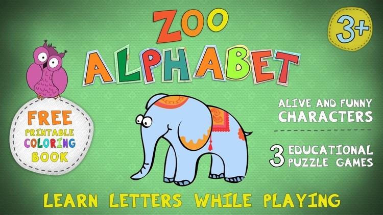 Zoo Alphabet for kids screenshot-0