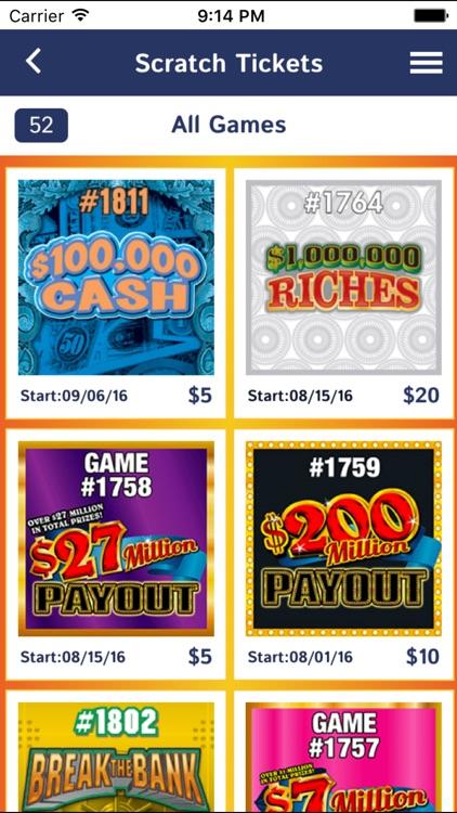 Texas Lottery Official App screenshot-3