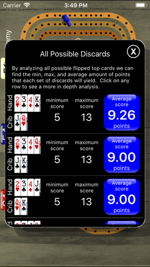 Cribbage Pegboard on the App Store