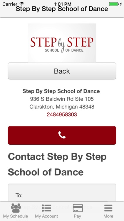 Step By Step School of Dance