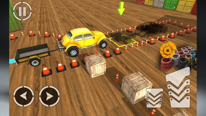 Car Parking:Trailer Challenge-1