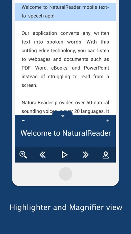 NaturalReader Pro screenshot-0