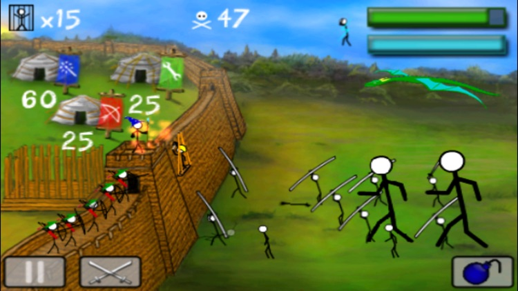 StickWars Lite screenshot-0