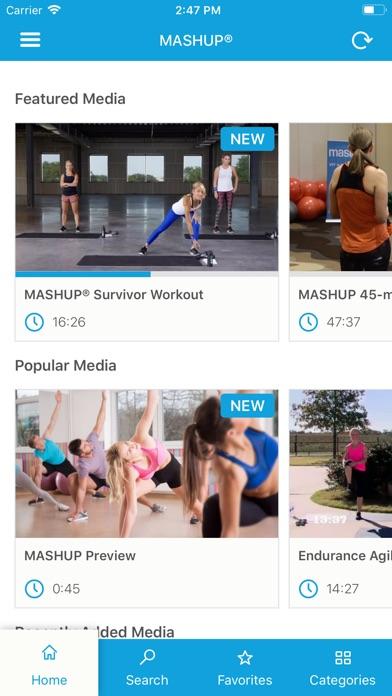 MASHUP® screenshot two