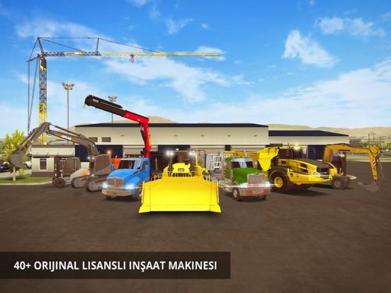 Construction Simulator 2 Lite ipad ekran görüntüleri