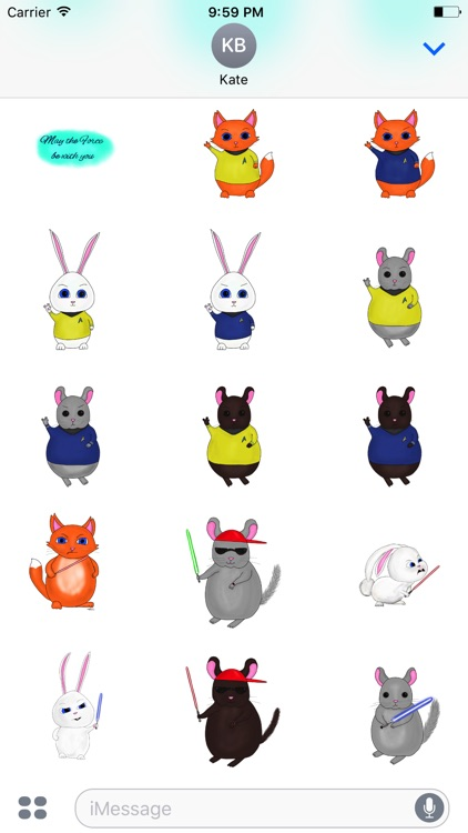 Star Pets stickers screenshot-3