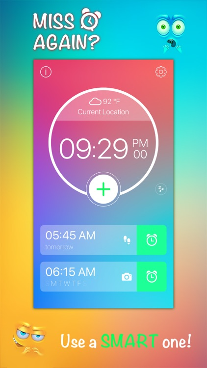 Step Out! Smart Alarm Clock screenshot-0