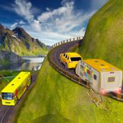 露营车厢车模拟器:越野车停车场3D