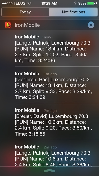 Screenshot for IronMobile - Ironman Tracker in Chile App Store