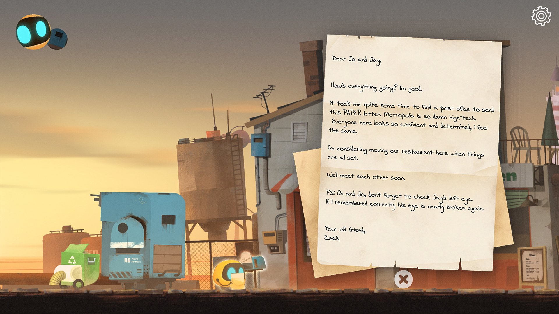 Abi: A Robot's Tale screenshot 13