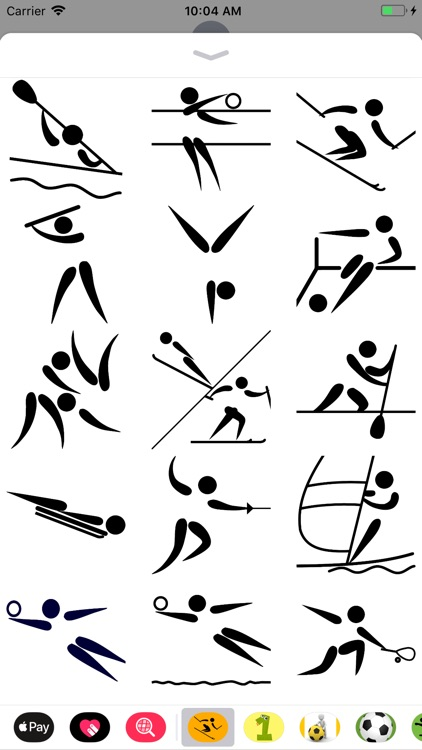 Sport Pictogram Sticker Pack