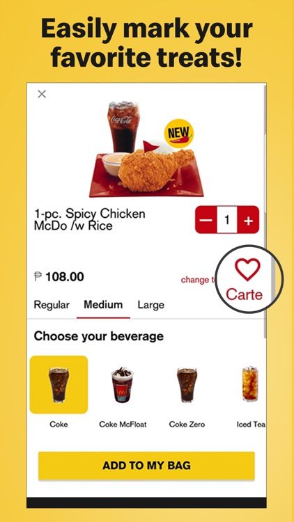 McDo Philippines screenshot-1