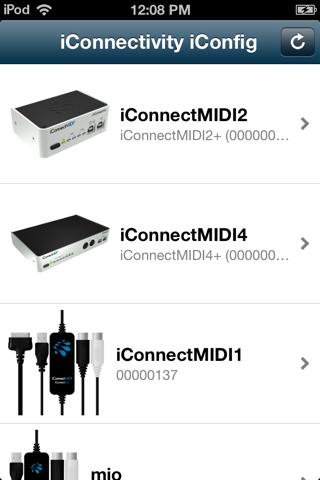 iConnectivity iConfig - náhled