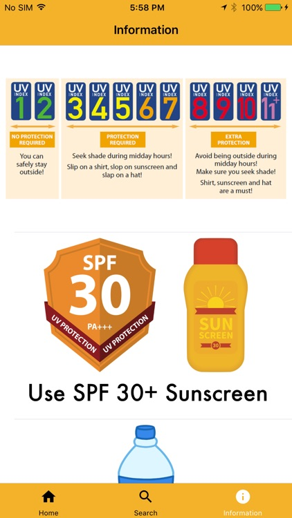 UV Safe - Sunscreen Reminder