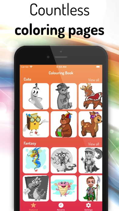 Coloring Book Color By Number App Download