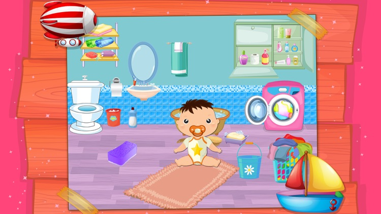 My Baby Doll House Town Play screenshot-4