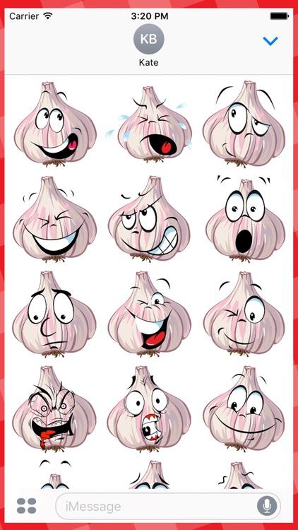 Face Expression: Garlic Faces