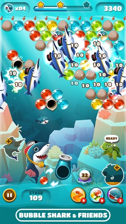 Bubble Shark & Friends screenshot-4