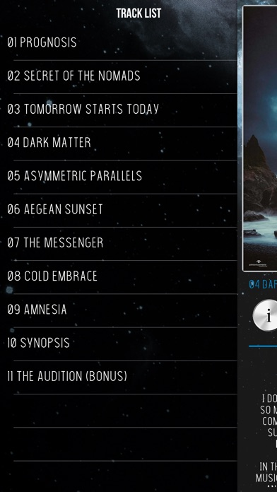 Screenshot of Prognosis & Synopsis App