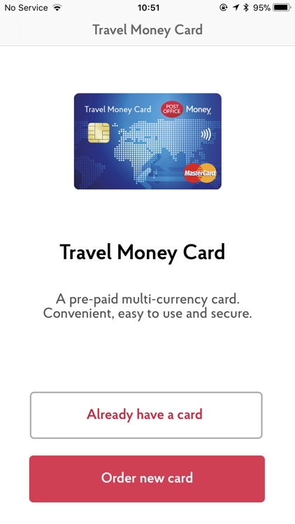 Post Office Travel Money Card by First Rate Exchange Services