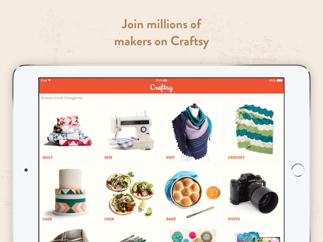craftsy on the app store