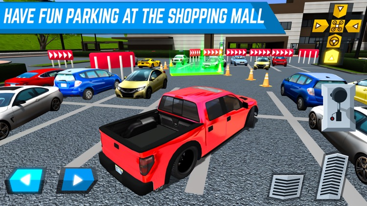 Shopping Zone City Driver