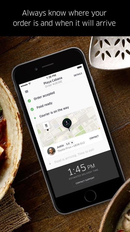 UberEATS: Food Delivery screenshot-3