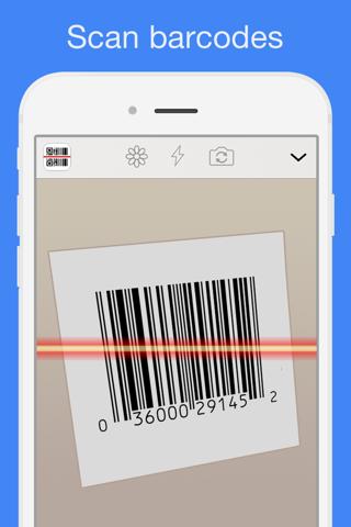 Screenshot for QR Reader for iPhone in Denmark App Store