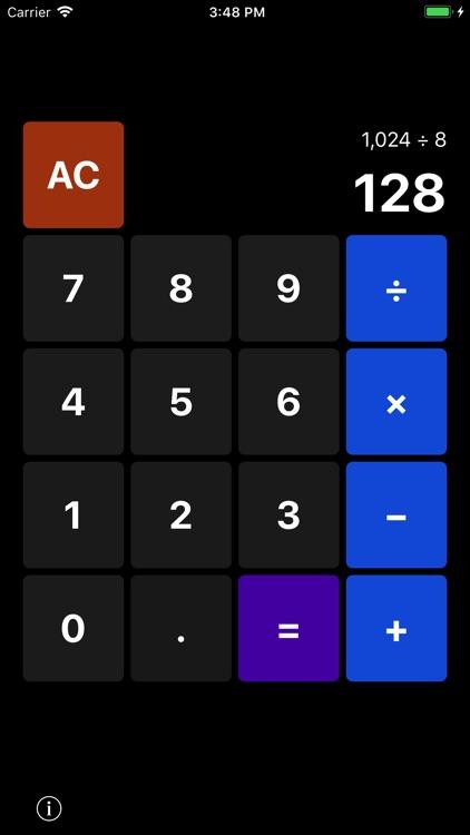 CalculatorWatch: Simple, Basic