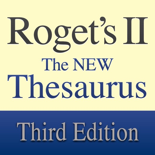 Roget's II: New Thesaurus