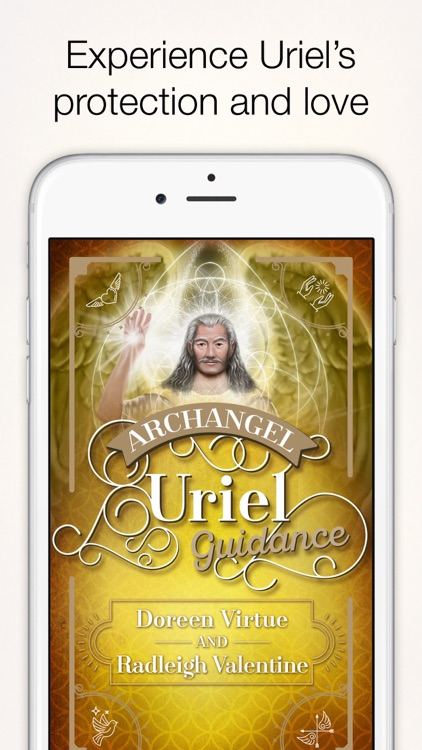 Archangel Uriel Guidance - Virtue, Valentine screenshot-0