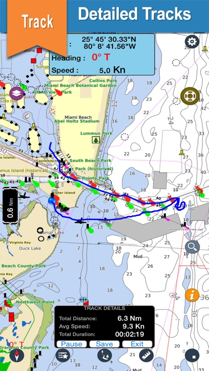 Seawell USA Marine Charts GPS screenshot-1