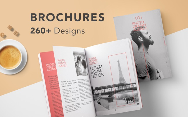 DesiGN Brochures Templates On The Mac App Store - Brochure templates for mac