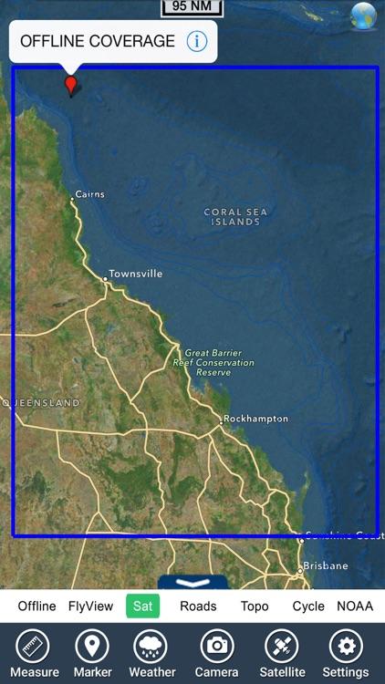 Coral Sea GPS Nautical Charts screenshot-4