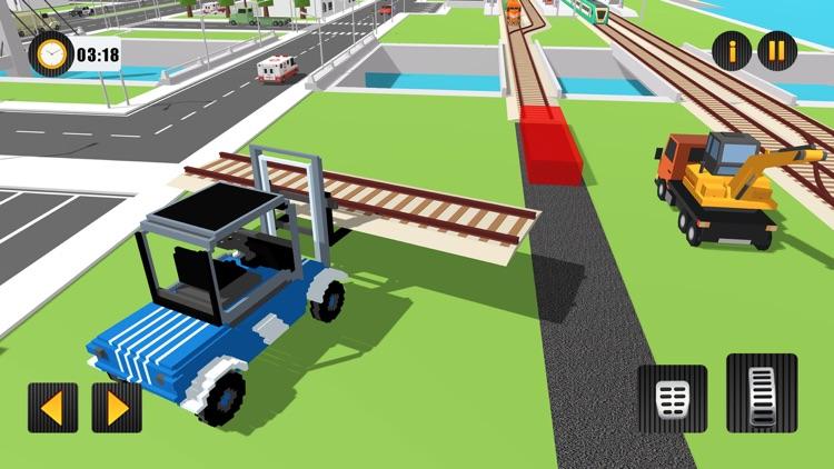 Railway Road Track Craft screenshot-4