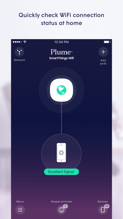Plume for SmartThings WiFi by Plume Design, Inc