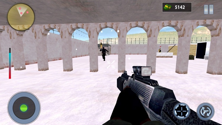 Snow Mountain Sniper Shooting