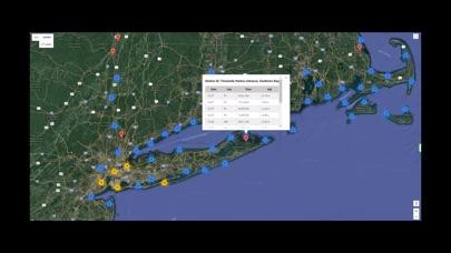 Screenshot #1 pour Northeast U.S.A. Tide Tables