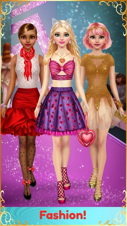 Dress Up & Makeup Girl Games screenshot-3