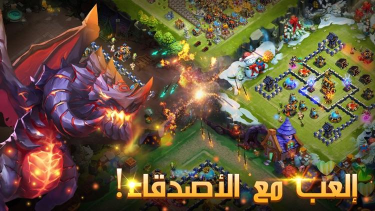 Castle Clash: فريق الشجعان screenshot-4
