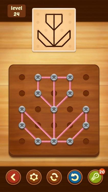 Line Puzzle: String Art screenshot-4