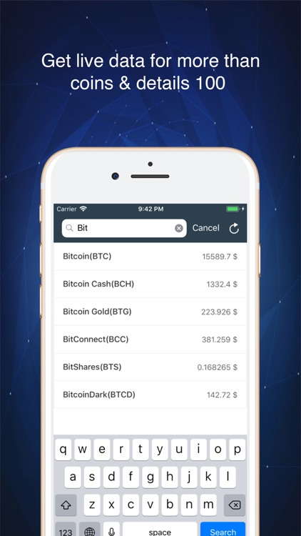 app to track bitcoin price