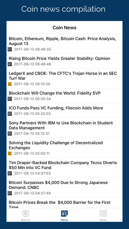 Coin Alert & Filter: Bitcoin Price Notification screenshot-4